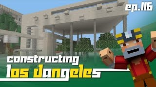 getlinkyoutube.com-Minecraft Xbox 360: Constructing Los Dangeles - Episode 116! (New Building!)