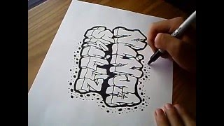 getlinkyoutube.com-Graffiti On Paper
