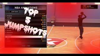 getlinkyoutube.com-NBA 2K16 - Top 5 Best Jumpshots! (Free Jumpers)