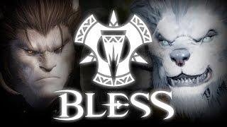 getlinkyoutube.com-Bless (블레스) - Lupus Starting Zone - Main Quest Cutscenes - CBT2 - KR