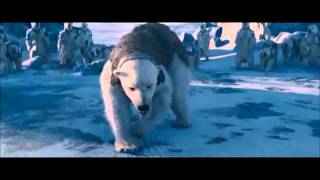 getlinkyoutube.com-The Golden Compass ....Iorek Byrnison vs Ragnar Sturlusson - Polar Bear Fight (scene )