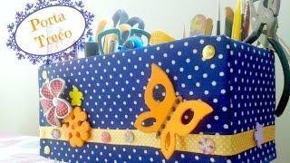 getlinkyoutube.com-DIY: Porta Treco (caixa organizadora)