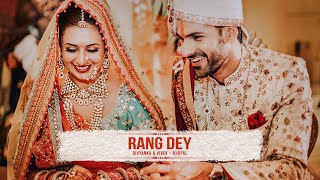 getlinkyoutube.com-Rang Dey - The wedding trailer of Divyanka Tripathi & Vivek Dahiya by The Wedding Story