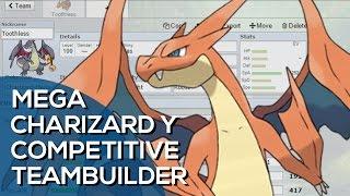 getlinkyoutube.com-Mega Charizard Y Competitive Team Builder (Pokemon Showdown ORAS OU Facecam)