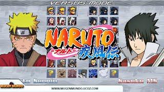 getlinkyoutube.com-NARUTO MUGEN MALUSARDI V2 (GAME COMPLETO ANALISE)