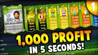 FIFA 15 - 1,000 COINS PROFIT EVERY 5 SECONDS!