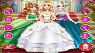 เกมส์แต่งตัวเจ้าหญิง ไปงานแต่งงาน - Rapunzel Princess wedding dress up