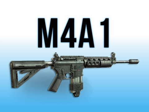 MW3 In Depth - M4A1 Assault Rifle