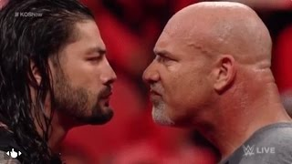Goldberg vs Roman Reigns - WWE Championship - Hell in a cell match width=