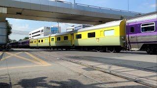 getlinkyoutube.com-รถไฟพระที่นั่งขบวนพิเศษที่ 945 สถานีรถไฟหลวงจิตรลดา - ที่หยุดรถสะพานแควใหญ่