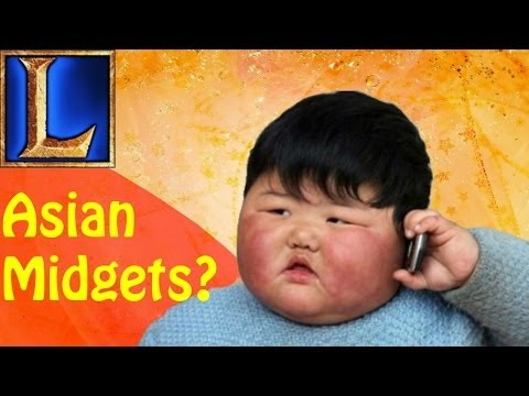 Asian Midget Ponr? (League of Legends w/ friends)