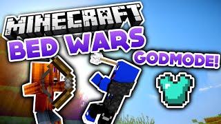 Godmode Challenge! - Minecraft Bed Wars (Deutsch/German)