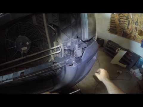 Как снять передний бампер и крыло Volkswagen Crafter 2007 год!