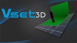 getlinkyoutube.com-Vset3D ★ 3D Virtual Set  ★ virtual set editor ★