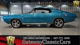 getlinkyoutube.com-1968 Plymouth Barracuda Gateway Classic Cars Orlando #168