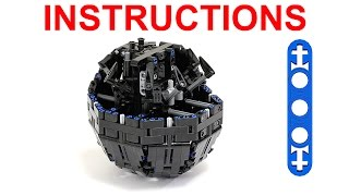 getlinkyoutube.com-Lego Technic Sphere – Building Instructions / Лего Техник Шарик – Инструкция
