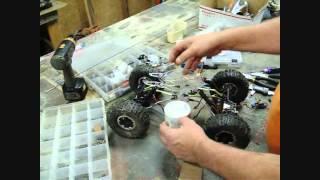 "getlinkyoutube.com-Building Custom RC Rock Crawler ""Blood Moon"" Part 2 Roller"