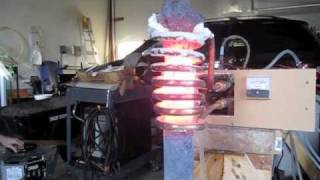 getlinkyoutube.com-Induction heater sword forging
