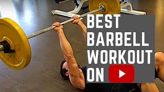 Best Barbell Workout On YouTube