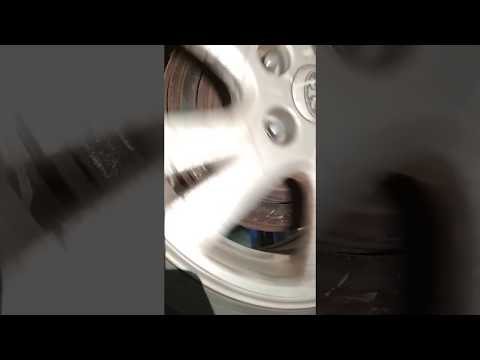 FAW Besturn B50 заклинило тормозной диск. Часть 1