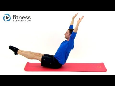 24 Minute Pilates for the Abs and Legs - Free Pilates Workout Videos by Fitness Blender