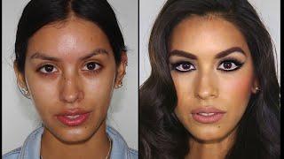getlinkyoutube.com-Retro Hollywood Glamour Makeup - Sophia Loren