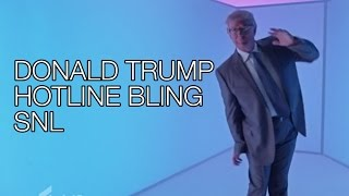 "getlinkyoutube.com-Donald Trump SNL Hotline Bling PARODY Dance, Saturday Night Live Monologue, Larry David ""Racist"""