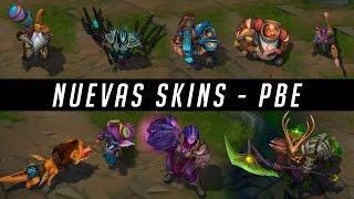getlinkyoutube.com-Nuevas Skins | Illaoi - Tristana - Azir - Hecarim - Ryze - Braum - Varus - Gragas