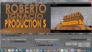 getlinkyoutube.com-Blender Tutorials - Intros - HOW TO: Custom 20th Century Fox Intro using Blender