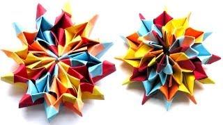 getlinkyoutube.com-Modulares Origami - Fireworks (Yami Yamauchi)