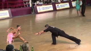 getlinkyoutube.com-Alexandr Makarov - Julia Remizova, RUS, 1/2 Rumba