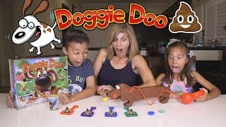 getlinkyoutube.com-Playing with DOGGIE DOO!!! Family Game Night Fun!
