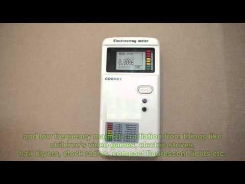 Cornet ED75 EMF Meter --My Review