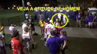 getlinkyoutube.com-Orlando City x Sao Paulo - Briga no Jogo / Fight at game