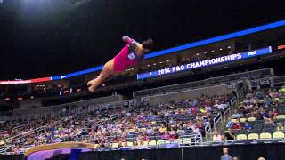 getlinkyoutube.com-2014 P&G Gymnastics Championships - Sr. Women - Day 1 (NBCSN)