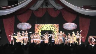 getlinkyoutube.com-Top Gun AllStars Lady Jags L5 Large Senior Atlanta Battle Under the Big Top Dec 12 2015 Day 1
