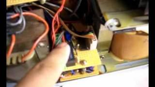 12V to 230V Inverter 800watt prototype.wmv
