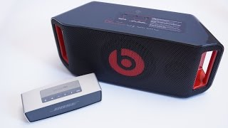 Beats BeatBox vs Bose Soundlink Mini Sound Comparison Audio Test