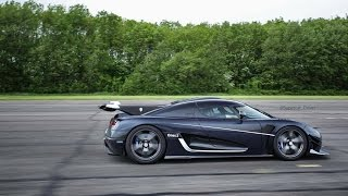 getlinkyoutube.com-Koenigsegg One:1- 240MPH On Board - New VMax 200 Record