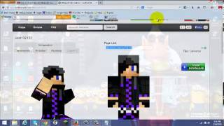 getlinkyoutube.com-How to change your skin in minecraft team xtreme