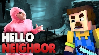 getlinkyoutube.com-SEIN BRUDER !? 😰   Minecraft Hello Neighbor