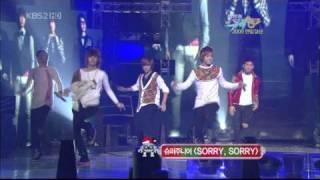 getlinkyoutube.com-B2ST & MBLAQ - Dance Battle
