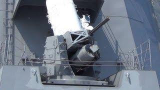 getlinkyoutube.com-すごい動作音!護衛艦「あしがら」高性能20mm機関砲 CIWS