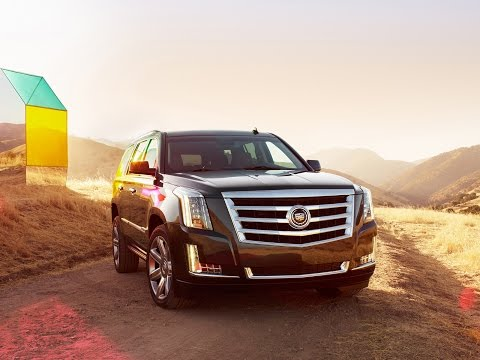 Премьера! Новый Cadillac Escalade! Узнай как выглядит новый американский внедорожник!
