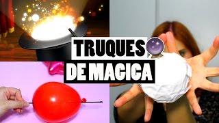 TRUQUES FÁCEIS DE MÁGICA PARA CRIANÇAS