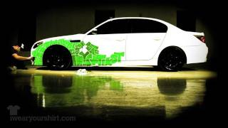 Hand Painted BMW M5, 3,000+ Words in 80 Hours