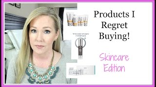 High End Skincare I Regret Buying