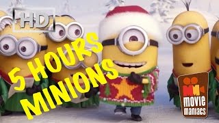 getlinkyoutube.com-5 Hours Minions Jingle Bells X-Mas Song - extended version