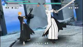 getlinkyoutube.com-Bleach Heat the Soul 7 - Ichigo und Hollow-Ichigo (Ogichi) vs. Sajin Komamura
