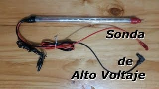 getlinkyoutube.com-Como Construir una Sonda para Medir Alto Voltaje